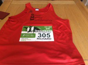 Snowdonia Half Marathon Number